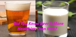 Cow's milk harmful than alcohol