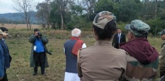 Modi Was Busy In Shooting After Pulwama Attack