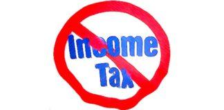 No More Income Tax