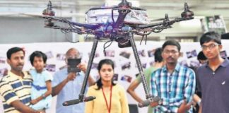 Bengaluru IIT Students Invented Special Drone